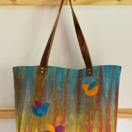 Autumn-Splendor-Leather-Handle-Linen-Tote-12