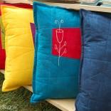 Jewel-Tones-Botanical-Sketch-Pillow-Group-1