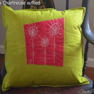 Chartreuse-Red-Allium-Botanical-Sketch-Pillow-1