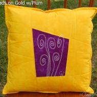 Gold-Plum-Fiddlehead-Botanical-Sketch-Pillow-2