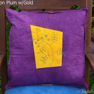 Plum-Gold-Jasmine-Botanical-Sketch-Pillow