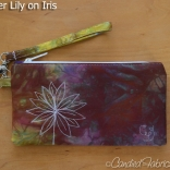 Zip-Clutch-Iris-Water-Lily