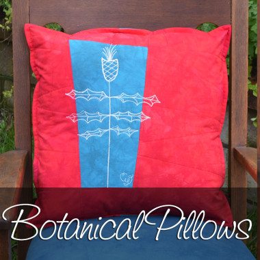 Botanical Sketch Pillows
